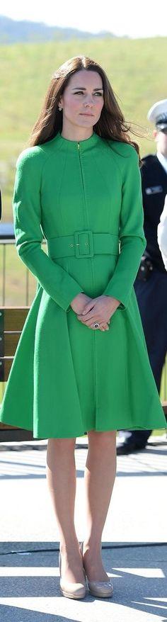 Duchess Catherine/ Kate Middleton Style, green coat