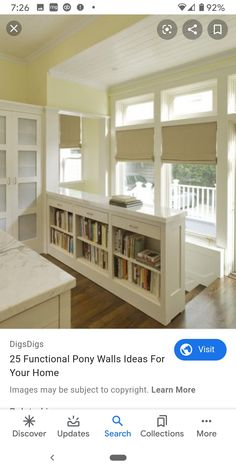 Great alternative to a railing. and pantry doors – Dress Archive Bookcase Stairs, Staircase Storage, Basement Stairs, Stairs Covering, Open Stairs, Stair Railing, Railing Ideas, Banisters, Railings