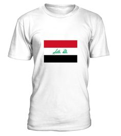 # National Flag of Iraq .  Get this BEST-SELLING T-ShirtCHECK OUT OUR SHOP!Guaranteed safe and secure payment with:Best quality on the market, great selection of colors and styles!The Republic of Iraq is a country in Western Asia. The north of the country is the Kurdistan Autonomous Region, which runs its own parliament and its own official language, Kurdish.(Republic, Flag, Asia, Middle East, Arab, Islam, Baghdad, war, Basra, Iraq)