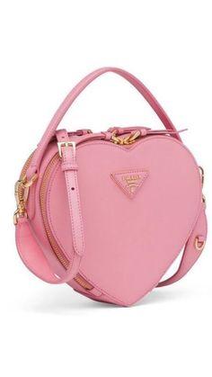 Luxury Purses, Luxury Bags, Prada Handbags, Purses And Handbags, Pink Purses, Handbags Online, Pink Prada Bag, Pink Chanel Bag, Vetement Fashion
