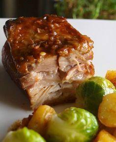 Poitrine de Porc Confite aux épices (recipe in french)