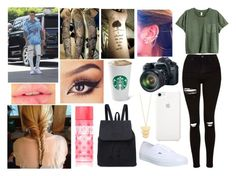 """""""I haven't talked to you because I don't know what to say anymore."""" by jblover-1fan ❤ liked on Polyvore featuring Justin Bieber, Topshop, Vans, Victoria's Secret, Eos and Gorjana"""