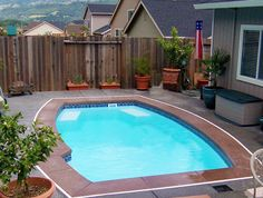 Small Inground Pool Designs For Es