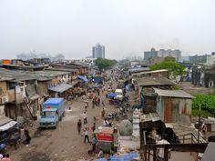 Dharavi slum, Mumbia, India