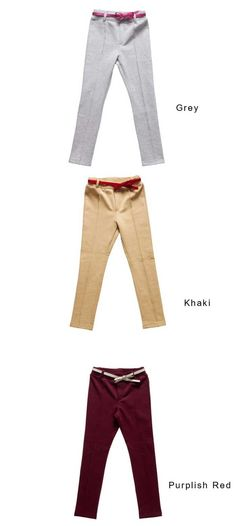 759bbc406870 Aliexpress.com   Buy New Arrival Free Shipping Girls Cool Pants Knitted  Trousers with Knot