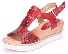 Pikolinos Womens Madeira Sandia Sandal 38 US Womens 758 B M -- Find out more about the great product at the image link. (This is an affiliate link) Platform Wedge Sandals, Women's Shoes Sandals, Shoe Boots, Jamel, Women's Feet, Womens High Heels, Womens Slippers, Types Of Shoes, Summer Shoes