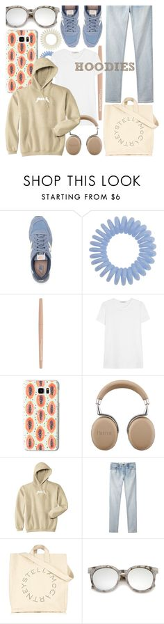 """hood"" by foundlostme ❤ liked on Polyvore featuring New Balance, Smashbox, ADAM, Casetify, Proenza Schouler, STELLA McCARTNEY, ZeroUV, casual and Hoodies"