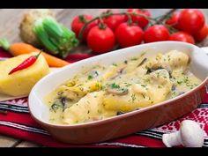 Reteta culinara Ciulama de pui cu mamaliga   Bucataras