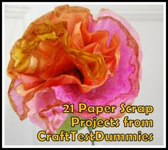 21 paper scrap projects from CraftTestDummies.com