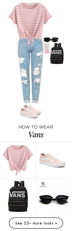 """Untitled #2939"" by anisaortiz on Polyvore featuring Vans"