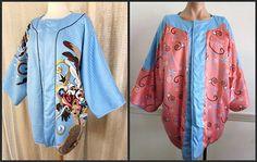 MICHAELE VOLLBRACHT Vintage Kimono Jacket Coat // by OGOvintage, $199.00