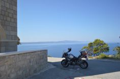 Dalmatian Coast, Croatia - a riders dream.  www.motorcycle-tours.travel