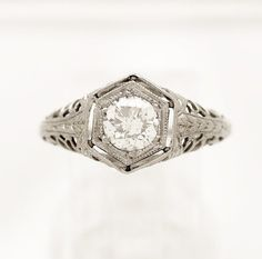 $2470.00   Hey, I found this really awesome Etsy listing at https://www.etsy.com/listing/183224403/060ct-diamond-18k-white-gold-edwardian