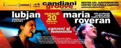 """#AlleProfondeOriginiDelleRugheProfonde. Due gli appuntamenti per scoprire il progetto discografico di Maria Roveran """"AlleProfondeOriginiDelleRugheProfonde"""". #Spettacolo, #Musica, #Arte, #Cinema e #Passione con Maria #Roveran, Jessica #Tosi e #Lubjan. #Veneto #DonneVenete http://www.ilsitodelledonne.it/?p=15776"""