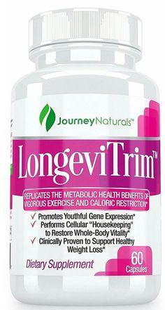 LongeviTrim  Weight Loss Supplement. Whole-Body AMPK Activator, 60 Capsules. #journeynaturals