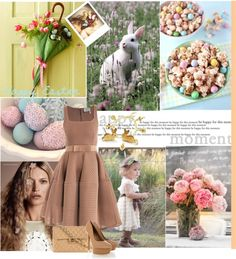 """""""Ready for easter - my favorite holliday"""" by izabel-bareicha ❤ liked on Polyvore"""