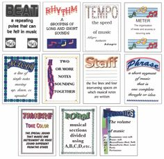 Elementary Elements Posters | Posters & Banners | Teaching Aids | Games & Teaching Aids | West Music