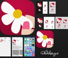 Create an online dating icon by Daylite Designs ©