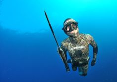 Cressi Spearfishing Camo Suit. Perfect gear for the hunt!