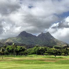 View from Olomana Golf Links.  #hawaii #iration #golf