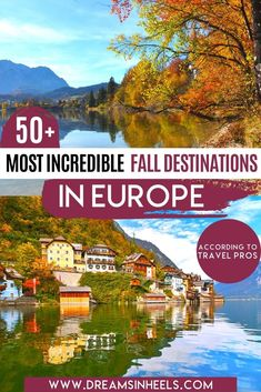 Looking for the best places to visit in Europe in the fall? Autumn in Europe is quite special, especially during October. There are many pros like the weather is mildly cool in the hottest European countries, dreamy places with the fall foliage in Europe, fall festivals in Europe, #Oktoberfest + fewer crowds. | best Fall destinations in Europe | best fall european destinations | Fall Europe travel | Fall Travel Destinations | Europe travel destinations | Europe autumn | Europe travel fall | European Countries, European Trips, European Travel Tips, Europe Travel Guide, Travel Abroad, Travel Guides, Europe Destinations, Cool Places To Visit, Best Places To Travel