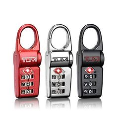 From the Travel Accessories Collection. Protect your valuables and identify your bags with these TSA locks Set of three Recognized by the TSA x x Imported. Home > Luggage & Travel > Travel Accessories. Luggage Backpack, Travel Luggage, Lock Set, Shops, Best Luggage, Luggage Accessories, Tumi, Mens Gift Sets, Men Gifts