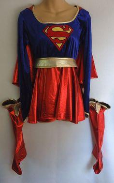 Super Girl Junior 7 9 Medium Halloween Costume Superhero #Rubies #CompleteOutfit #Halloween