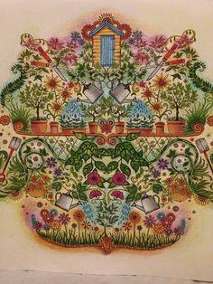 Secret Garden Jardinagem Jardim Secreto Johanna Basford