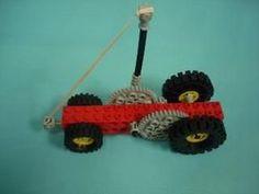 Lego Pull Back Car