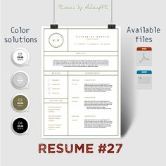 Resume #27