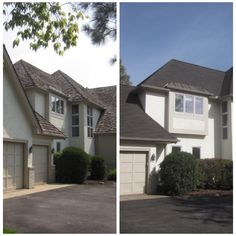 This homeowner wanted to replace her cedar shake roof with something maintenance-free.  She opted for GAF Glenwood shingles, which are the most authentic wood shake-look shingle you can buy.