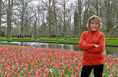 The power of flowers: Esther Rantzen finds tulip heaven on a river cruise into Holland