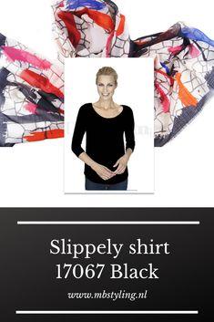 Dit zwarte crêpe viscose Slippely shirt heeft driekwart mouwen, een brede, hogere halslijn, een afgeronde onderkant en is recht vallend van model. Het zwarte Slippely shirt is gemaakt van 93% viscose en 7% elastan. Viscose draagt net zo prettig als katoen terwijl de stof zachter en soepeler is en zijdeachtig aanvoelt.  #slippely #slippelyshirt #shirt #slippelyshirtonline #onlineslippelyshirt #zwartslippelyshirt #mbstyling Navy, Movies, Movie Posters, Hale Navy, Films, Film Poster, Cinema, Old Navy, Movie
