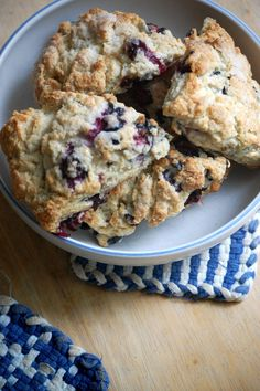 Blueberry Scones.   Darling coffee's version on cooking channel.com