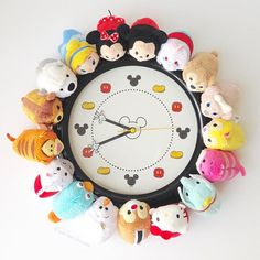 We had to change our clocks today for Daylight Saving. We started with this one! Tsumtsum, Disney Tsum Tsum, Daylight Savings Time, Disney Style, Mickey Mouse, Projects To Try, Clocks, Instagram Posts, Change