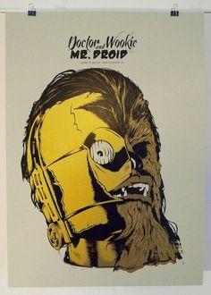 Dr. Wookie & Mr. Droid #starwars #c3po #chewbacca