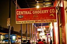 Central Grocery in NOLA, gotta have a muffuletta from here every time I go....NOLA really is a second home
