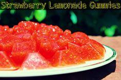 Strawberry Lemonade Gummies (gluten-free & grain-free)