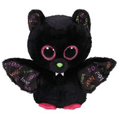 084ac5448d3 Ty Beanie Boo knuffel Dart vleermuis - 15 cm Halloween Beanie Boos