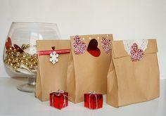 Te mostramos el paso a paso para elaborar bolsas de papel de cartón para envolver tus regalos. ¡Podrás personalizarlas!