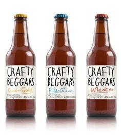 Label / krafty / beer