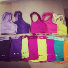Maybe I should actually color coordinate my running clothes. These all look soo comfy.