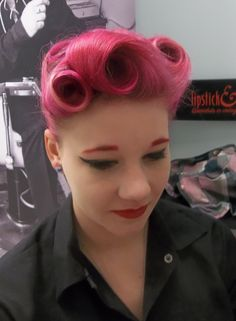 Another of our pretty customers Hair Lipstick and Curls http://www.lipstickandcurls.net/