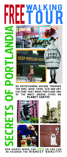 Secrets of Portlandia Flyer Front
