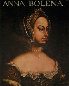 UNKNOWN MASTER, Italian  Portrait of Anne Boleyn  1610s. Seriously what an ugly portrait of Anne! Ew!!!