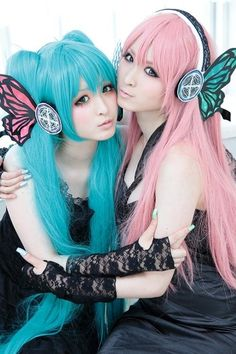 Vocaloid - Hatsune Miku & Megurine Luka
