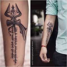 Here you will find most beautiful and attractive shiva tattoo designs and ideas for your shiva tattoos, lord shiva beautiful tattoos and designs for men and Gott Tattoos, Wörter Tattoos, Arrow Tattoos, Trendy Tattoos, Unique Tattoos, Forearm Tattoos, Body Art Tattoos, Sleeve Tattoos, Tattoos For Guys