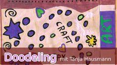 Doodeln / Kritzeln / Umschlag / Acryl Markern TRITON & POSCA (deutsch) Einen braunen langweiligen Umschlag mit doodeln aufpeppen - das war mein Wunsch für den Giveaway-Gewinnerumschlag der an Miss_Fruchteis gehen soll