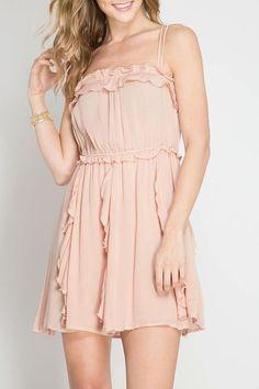 She + Sky Romantic Night Dress