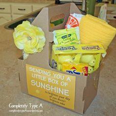 "My Version of ""A Box of Sunshine"""